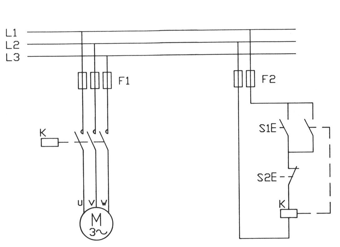 Schema Elettrico Marcia Arresto : Schema elettrico trifase fare di una mosca