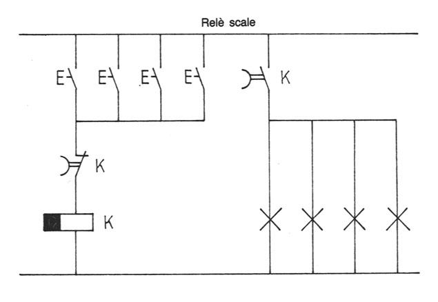 Schema Elettrico Per Temporizzatore : Le funzioni logiche