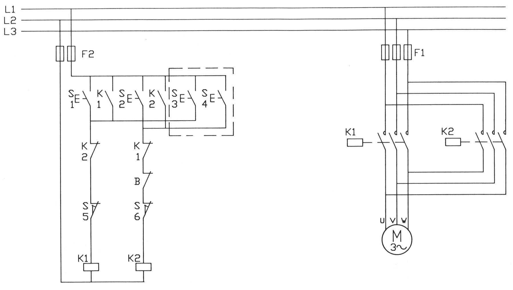 Schema Elettrico Trifase : Azionamento serranda 380v cancelli elettrici plc forum